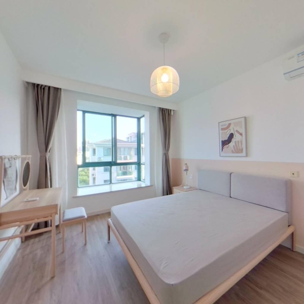 整租·蓝色港湾(公寓) 2室1厅 卧室图