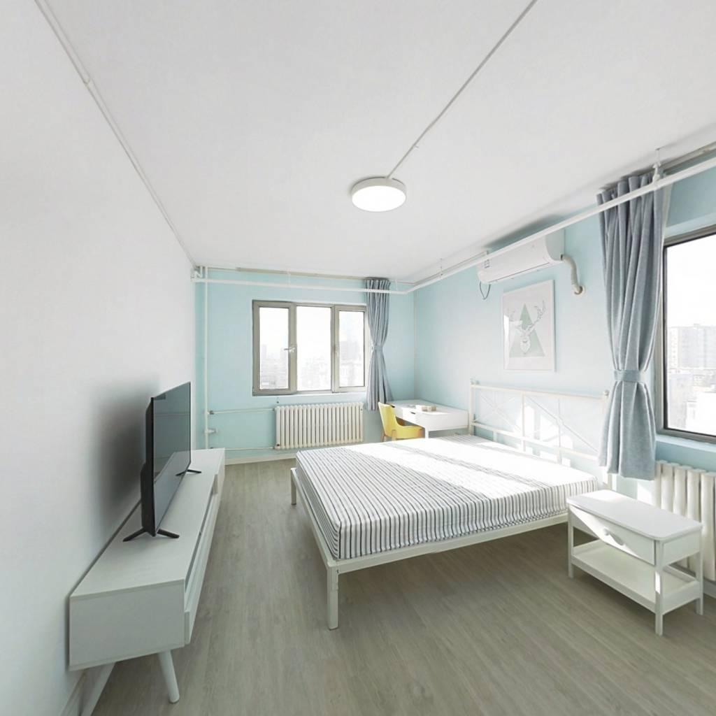 整租·团结湖东里 2室1厅 西南卧室图