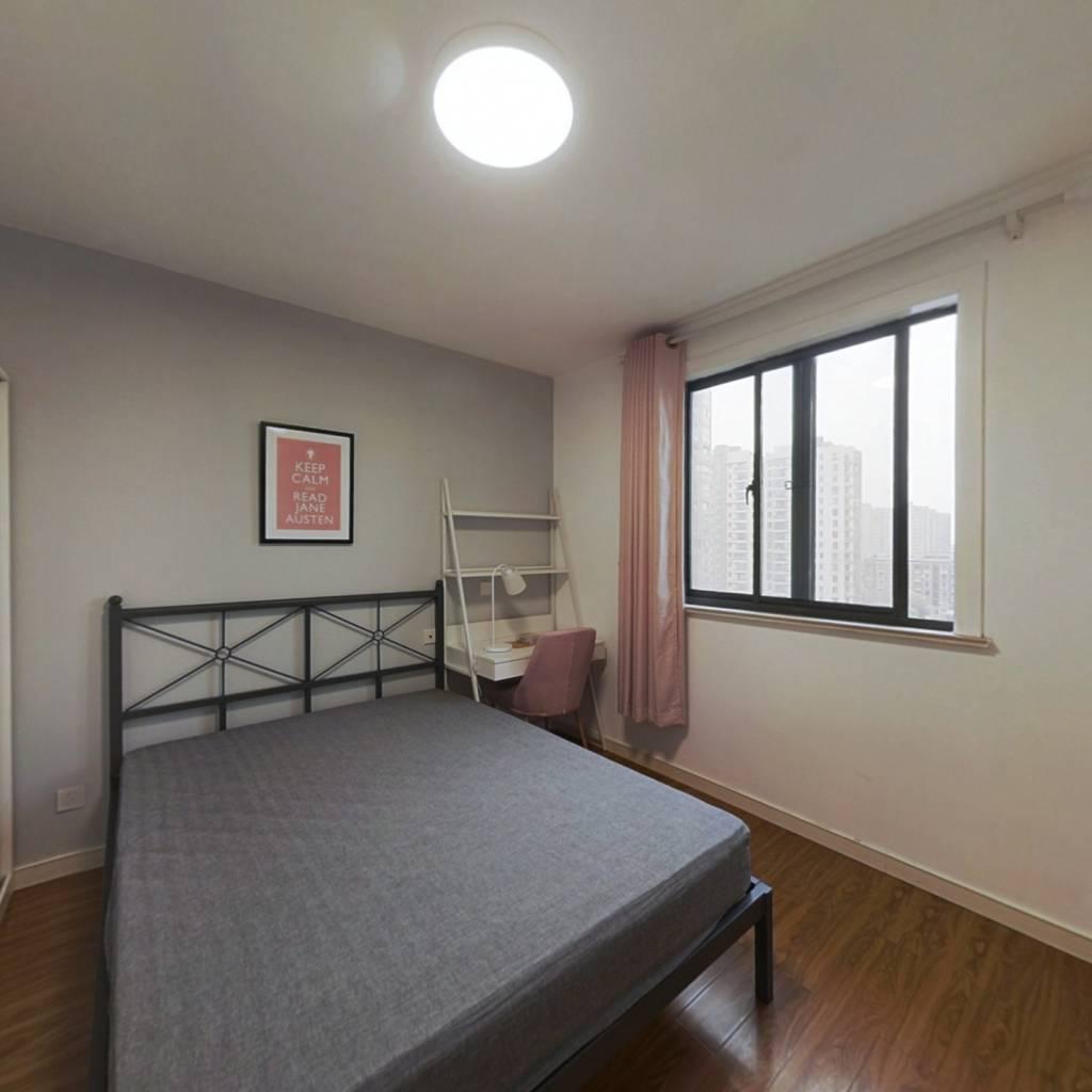 合租·嘉城新航域 3室1厅 南卧室图