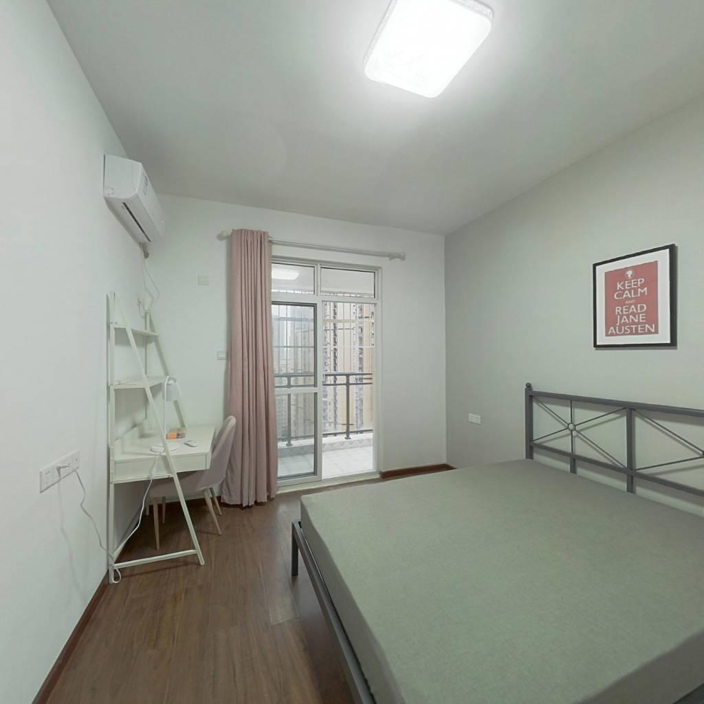 合租·新城丽景B区 4室1厅 东卧室图
