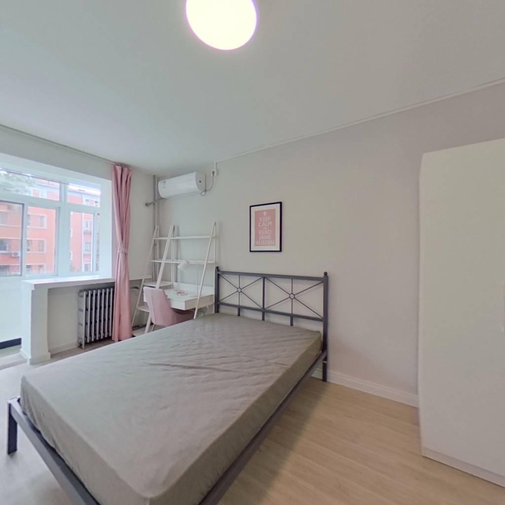 合租·西三环北路23号院 2室1厅 南卧室图