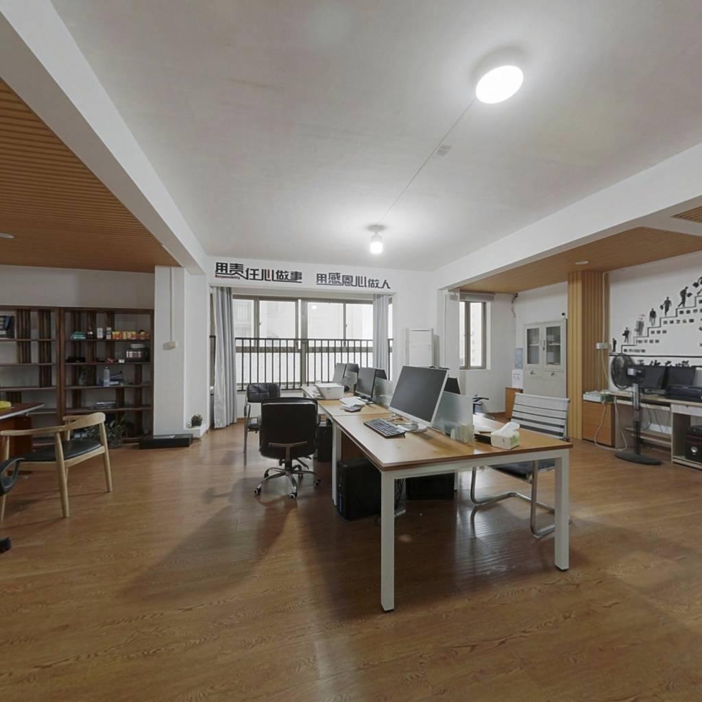 博仕后家园b区142.57平 办公装修大两房