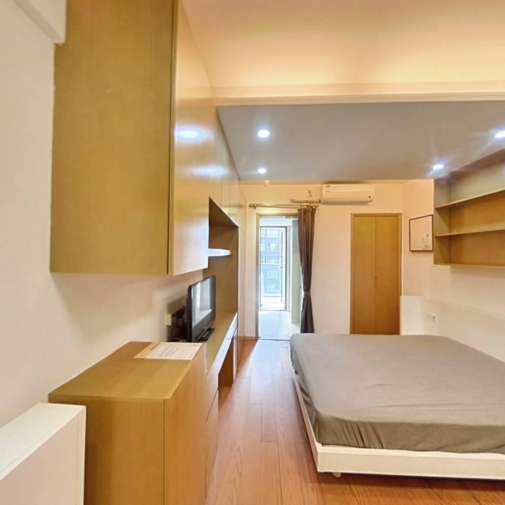 整租·栖游家园 1室1厅 西卧室图