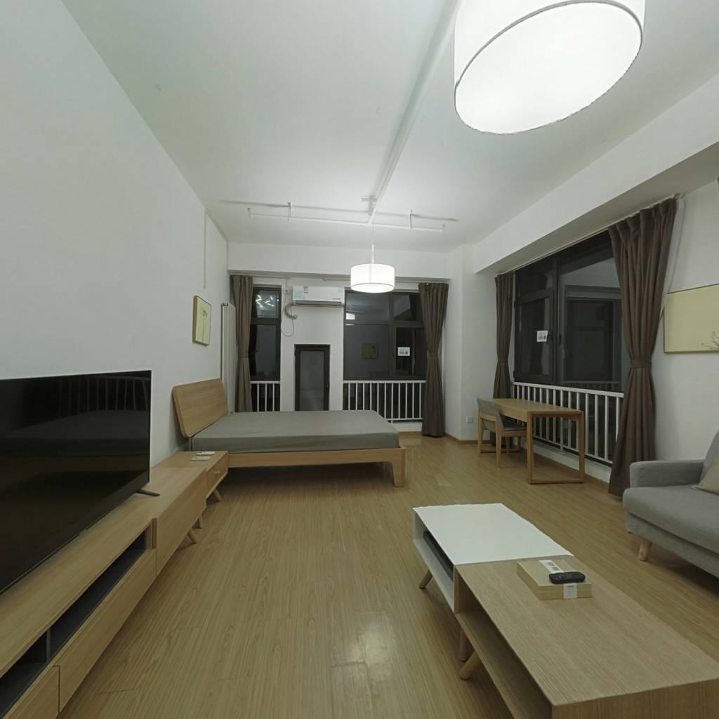 整租·首开国风美唐综合楼 1室1厅 东南卧室图