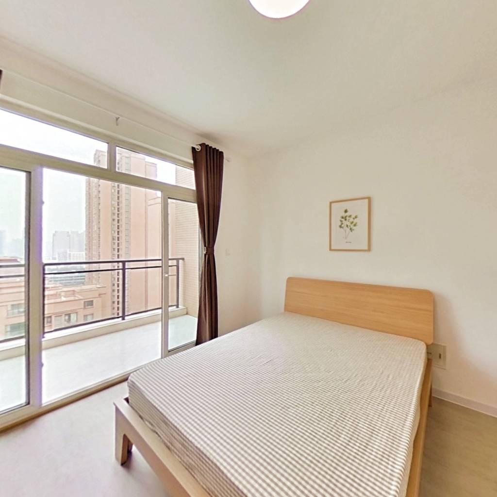 合租·比华利国际城二期 4室1厅 西北卧室图