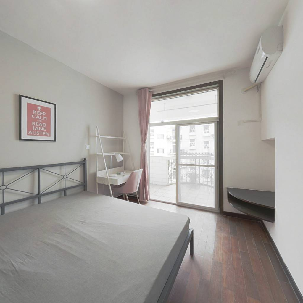 合租·香江花园一二期 4室1厅 北卧室图