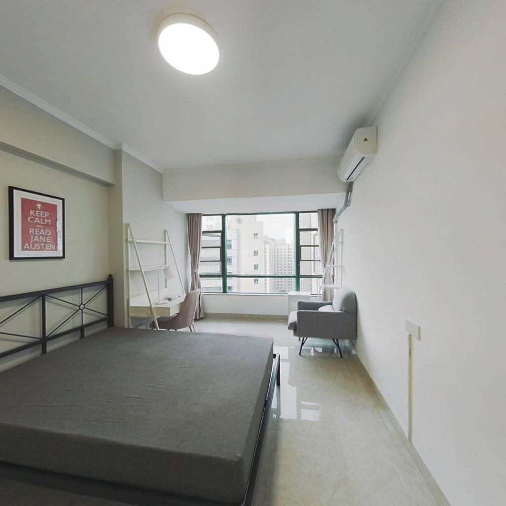 合租·天誉花园 3室1厅 北卧室图