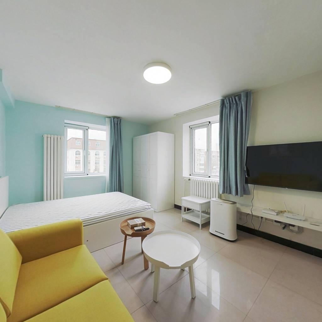 整租·雅安东里 1室1厅 北卧室图