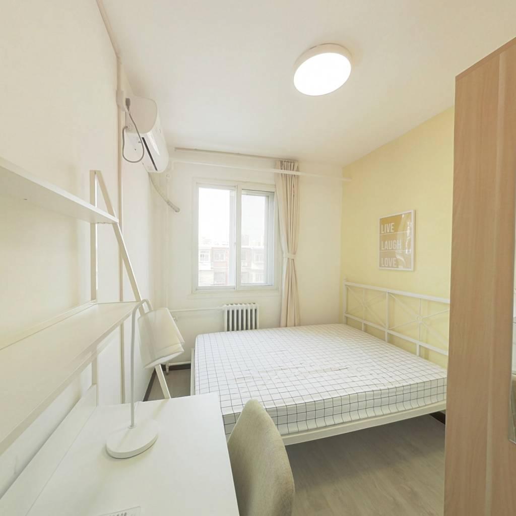 合租·西罗园南里 3室1厅 北卧室图