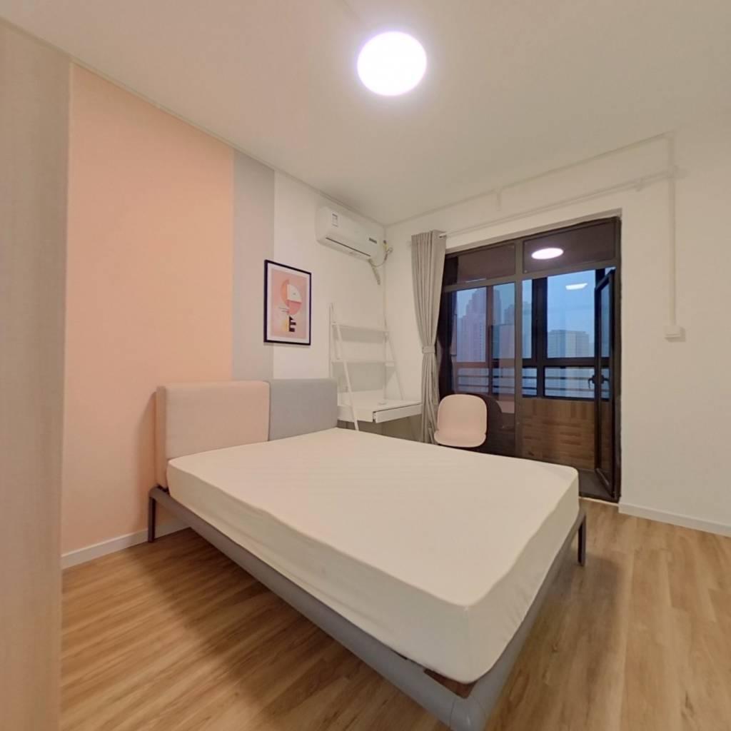合租·王家湾中央生活区 4室1厅 北卧室图