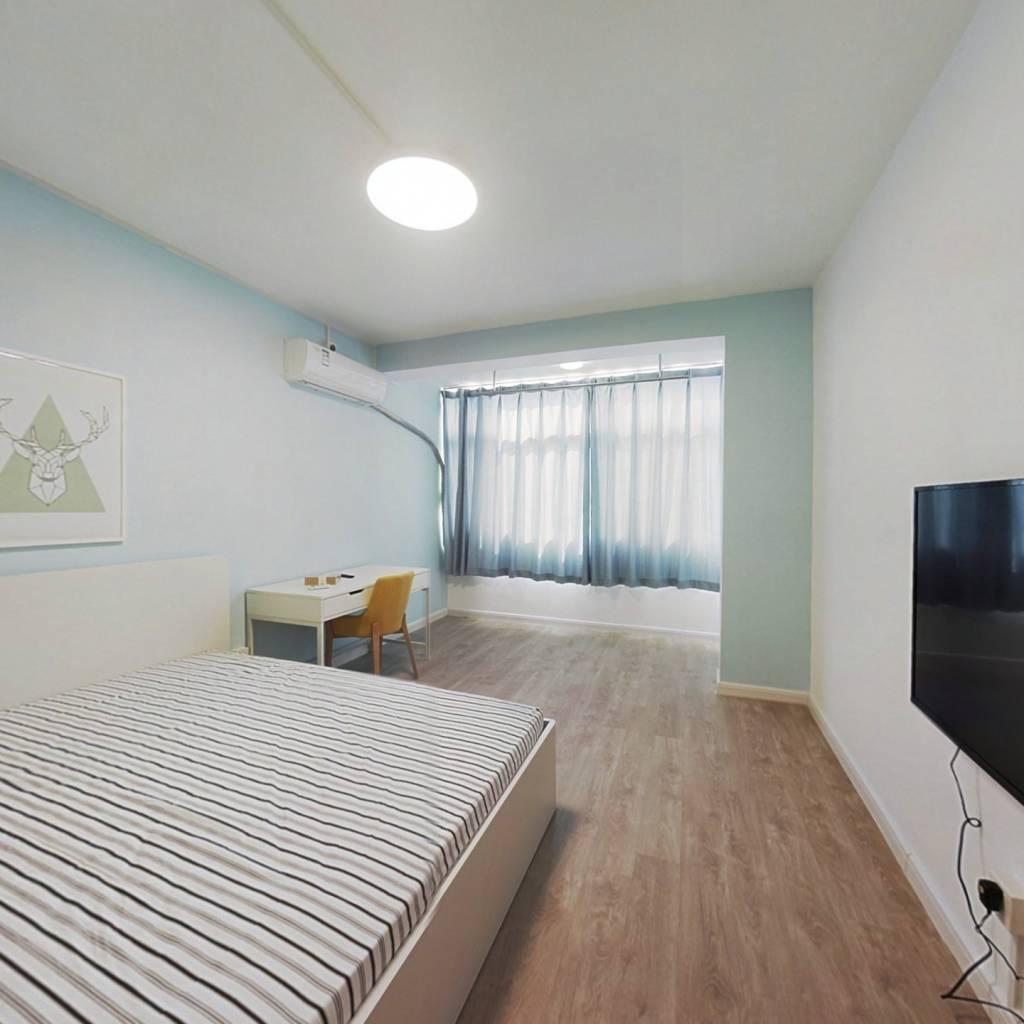 整租·广州路258号 1室1厅 南卧室图