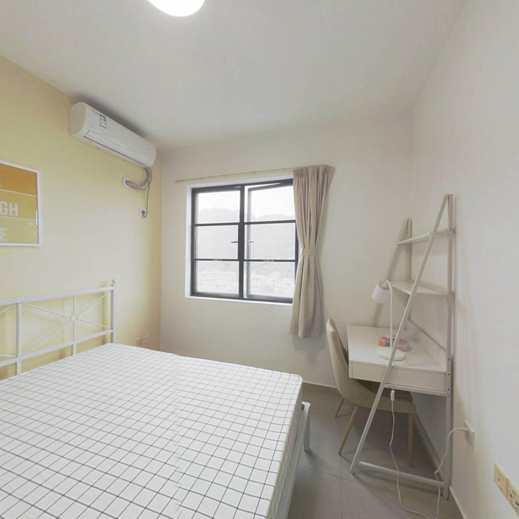 合租·龙光峰景华庭 4室1厅 南卧室图