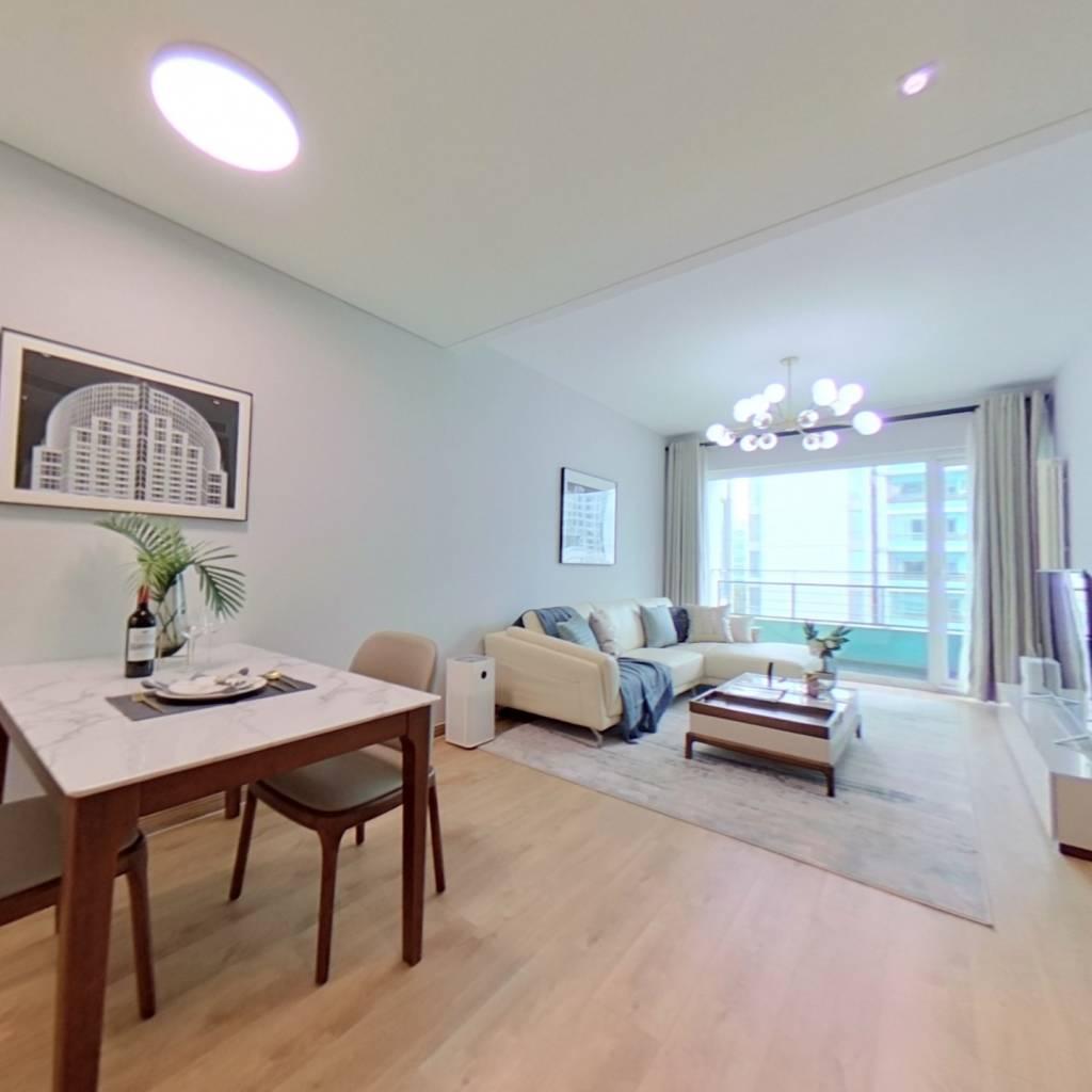 整租·华贸国际公寓 1室1厅 东卧室图