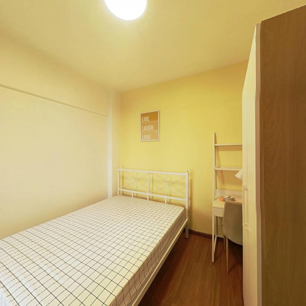 合租·竹韵天府 3室1厅 南卧室图