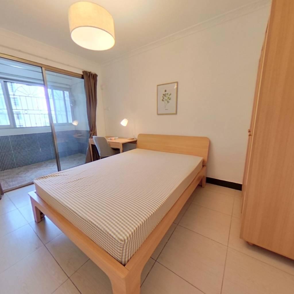合租·汇侨新城南区 4室1厅 东南卧室图