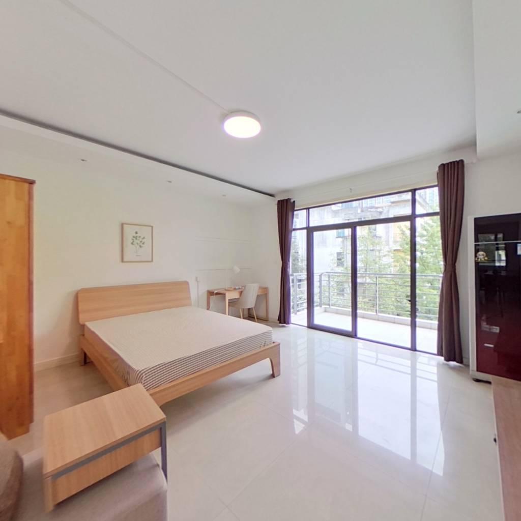 合租·左岸花都 4室1厅 北卧室图