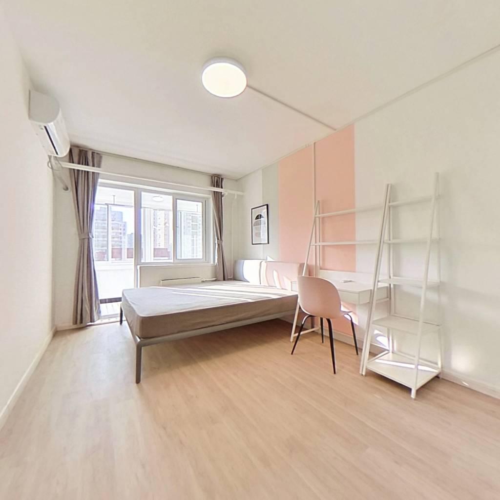 合租·西罗园二区 3室1厅 南卧室图