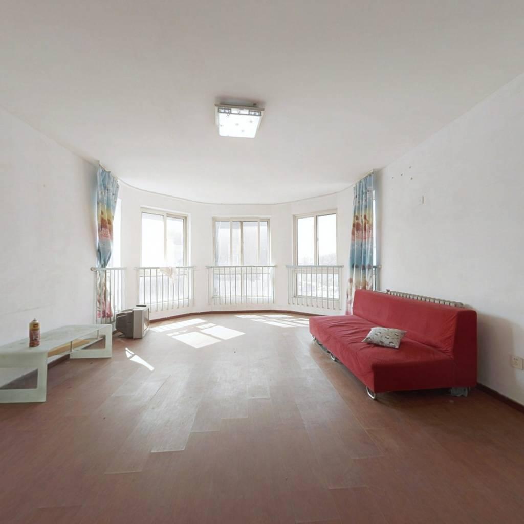山水汇豪苑南北三居室户型方正全明户型满五年唯一