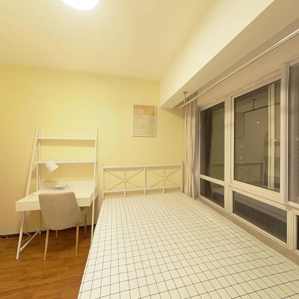 合租·东方新城一期 3室1厅 西北卧室图
