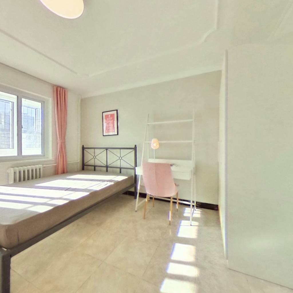 合租·晨欣园 3室2厅 北卧室图
