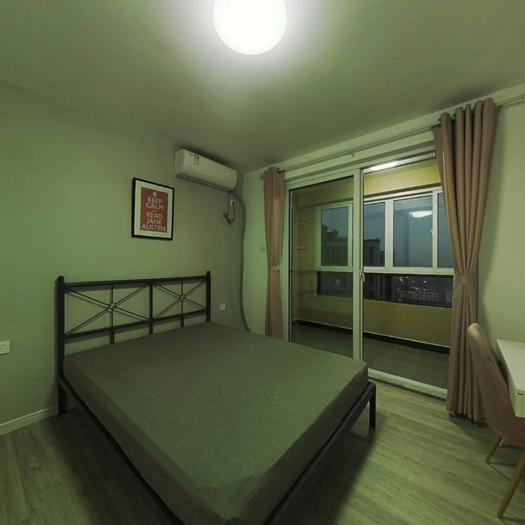 合租·胜悦嘉苑 3室2厅 南卧室图