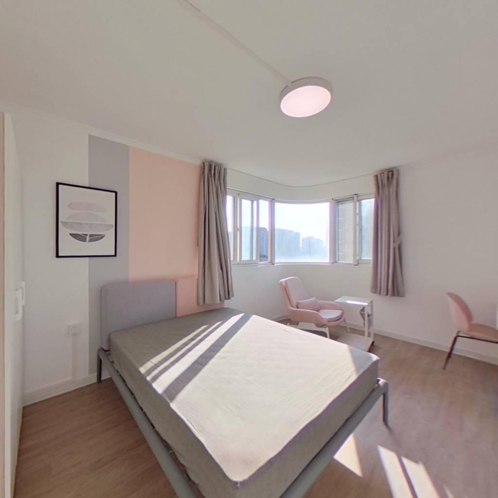 合租·东航明珠公寓 3室1厅 西卧室图