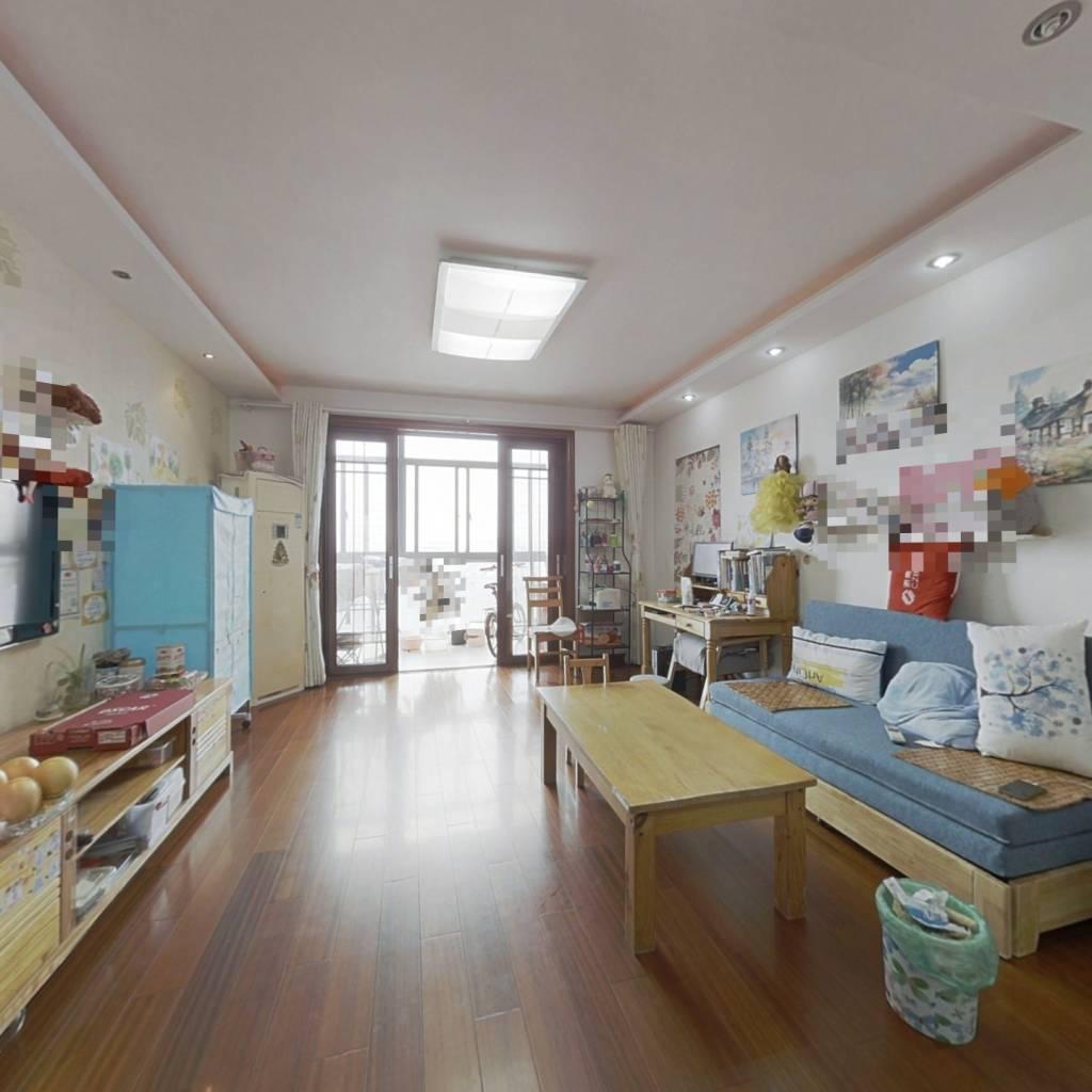 小高层顶楼复式,精装修自住,得房率高,使用面积大