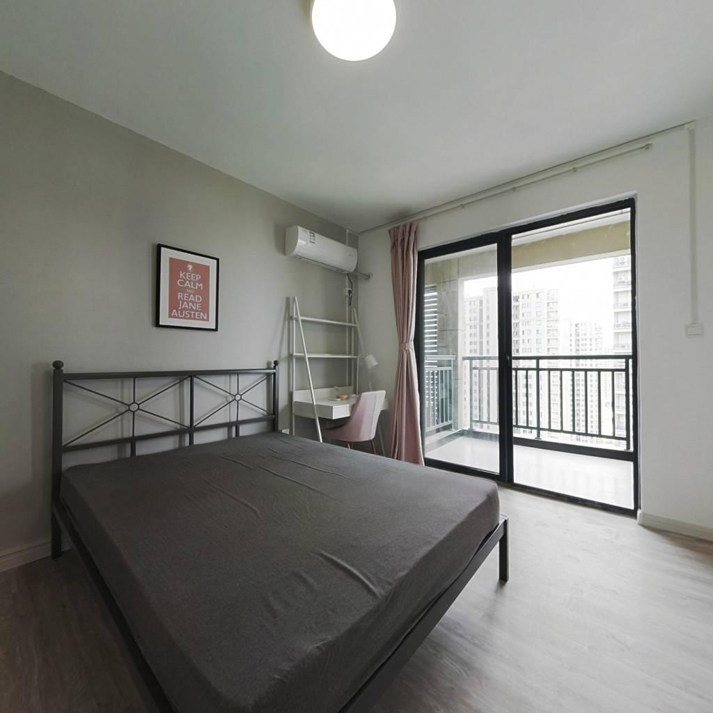 合租·钱塘福苑 3室1厅 南卧室图