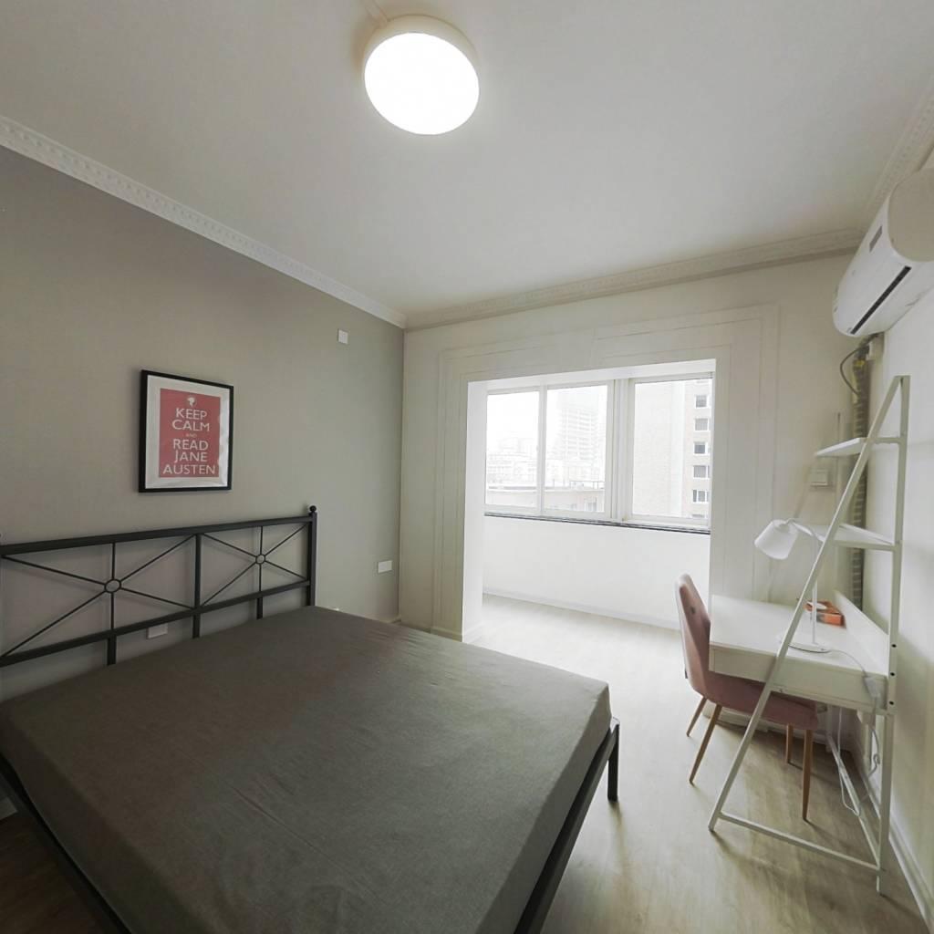 合租·新安公寓 3室1厅 北卧室图
