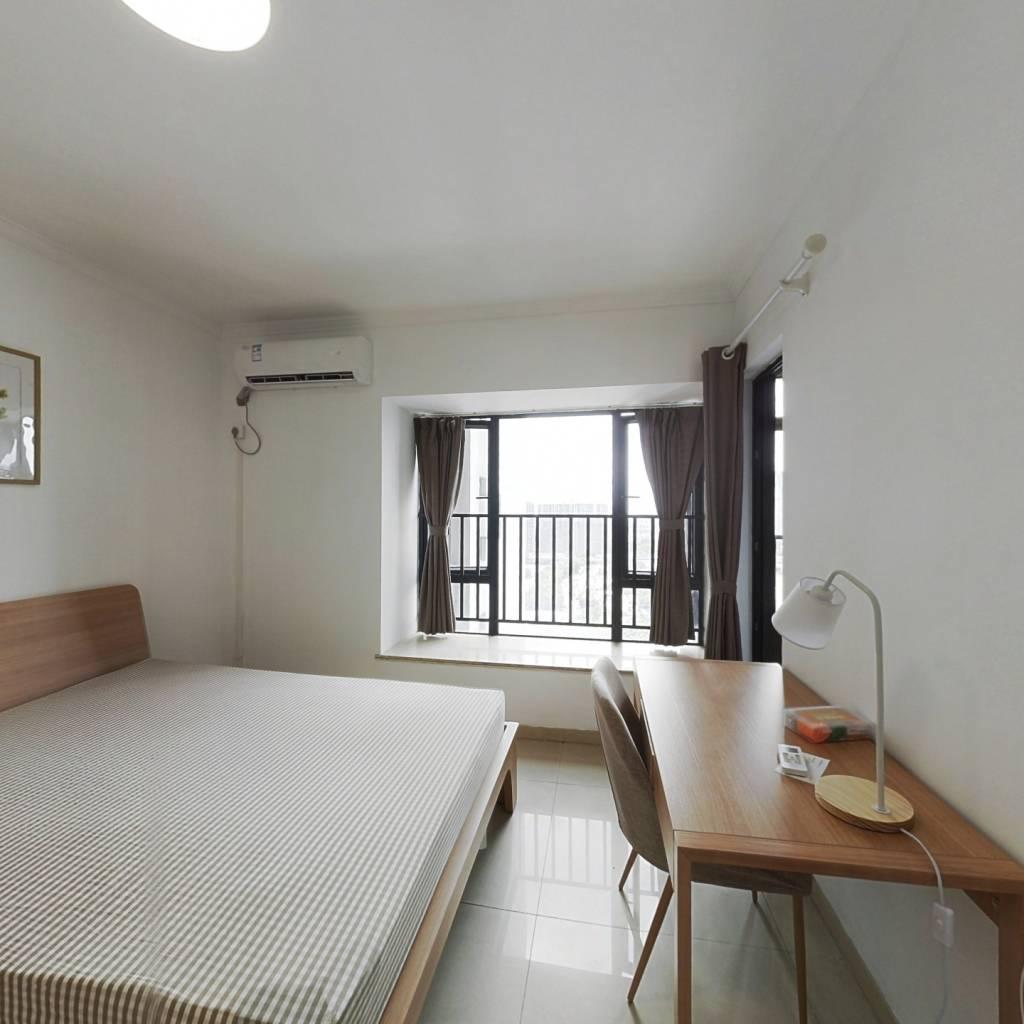合租·万科柏悦湾 4室1厅 北卧室图