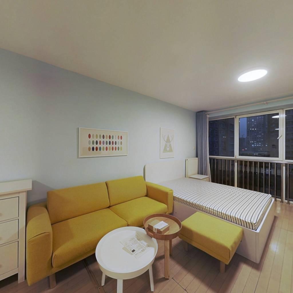 整租·远洋天地二期 1室1厅 北卧室图