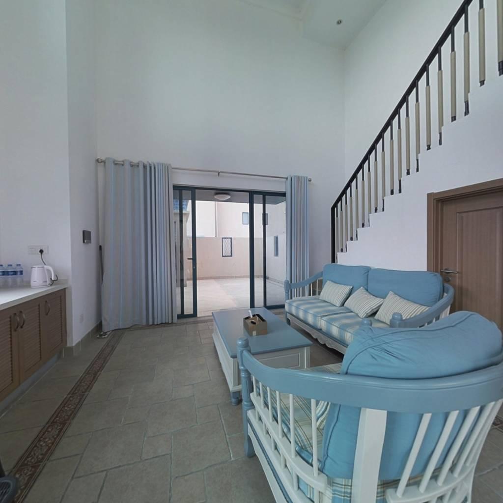 万科双月湾二期 洋房上下两层  叠墅 业主诚意出售