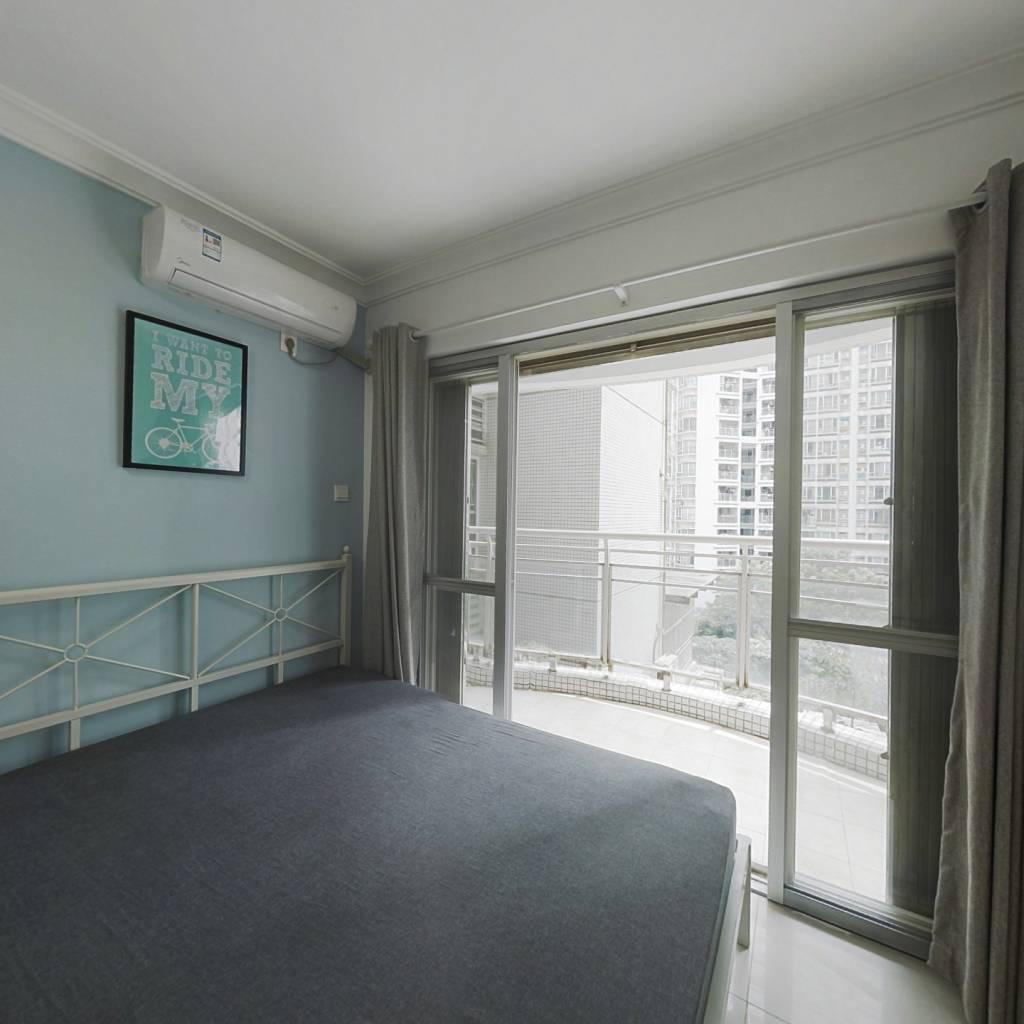 合租·翠城花园 3室1厅 东南卧室图