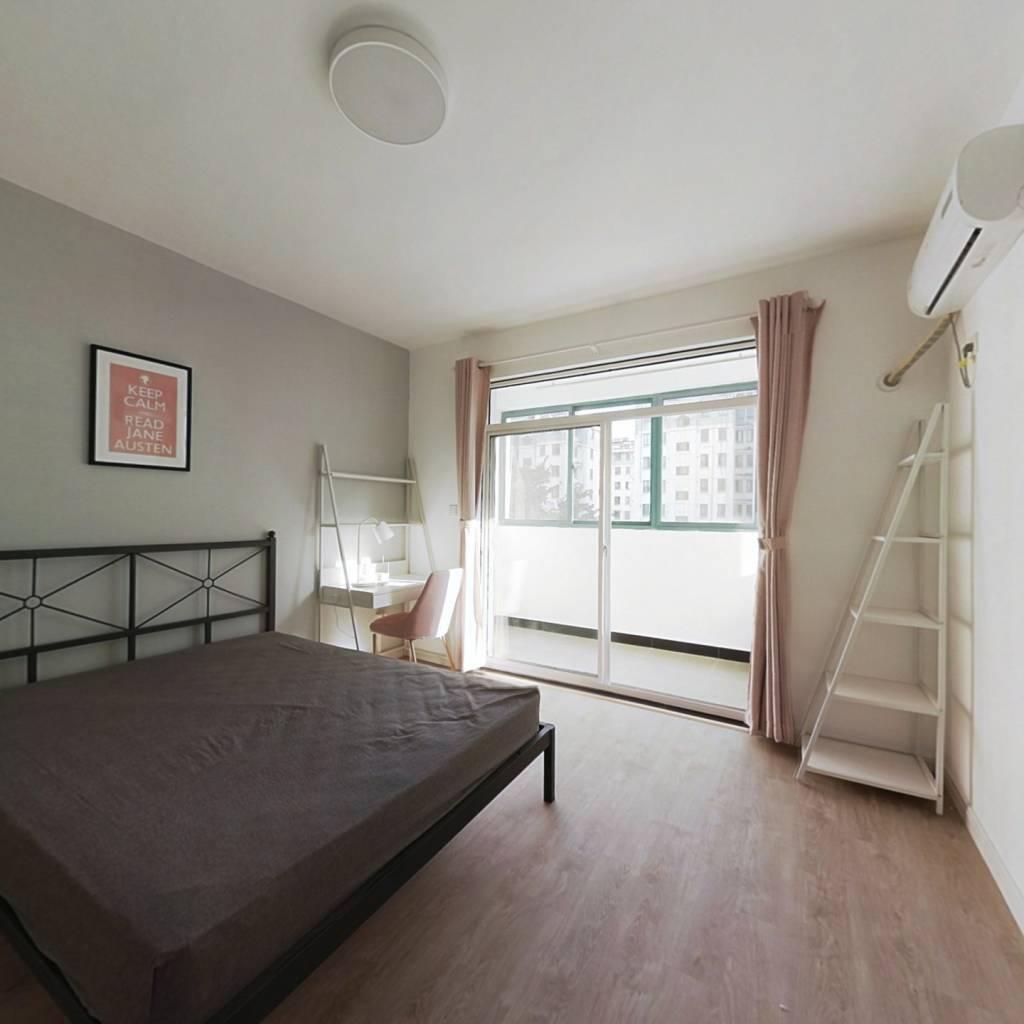 合租·天景山公寓花锦苑 4室1厅 北卧室图