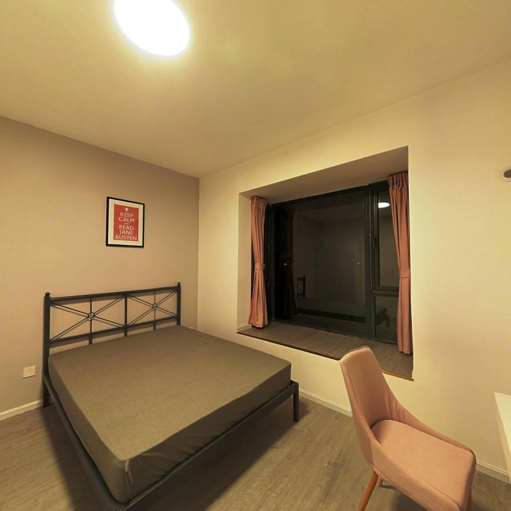 合租·每日汇城 4室1厅 南卧室图