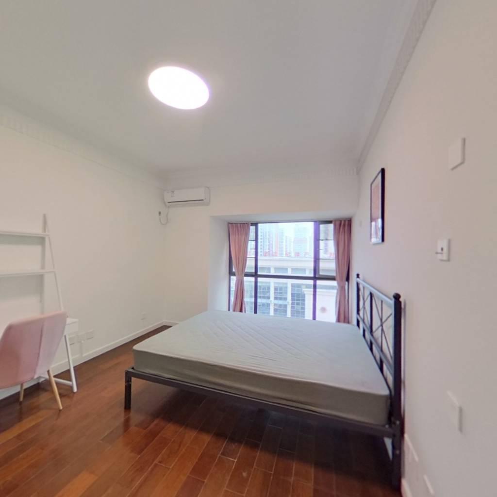 合租·西湖林语 5室1厅 南卧室图