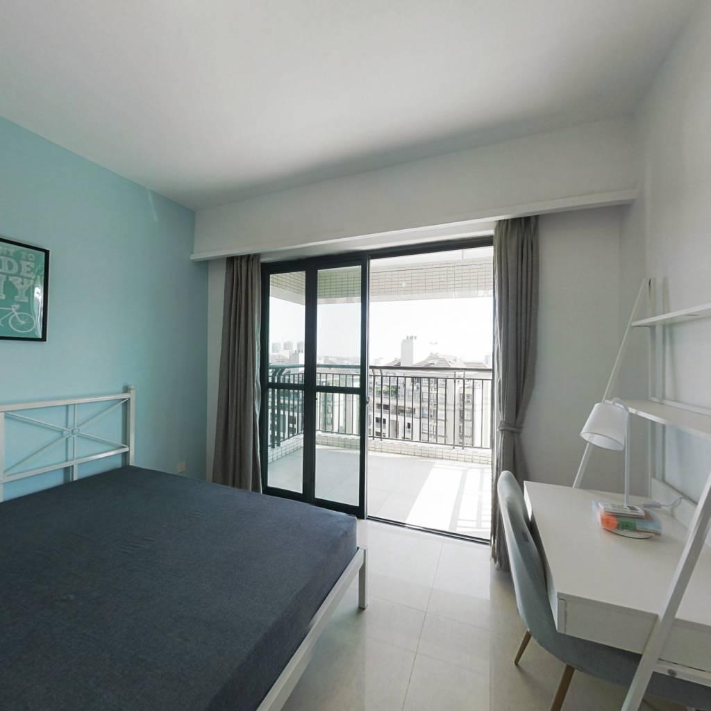 合租·广州雅居乐花园一尺山居 4室1厅 东南卧室图