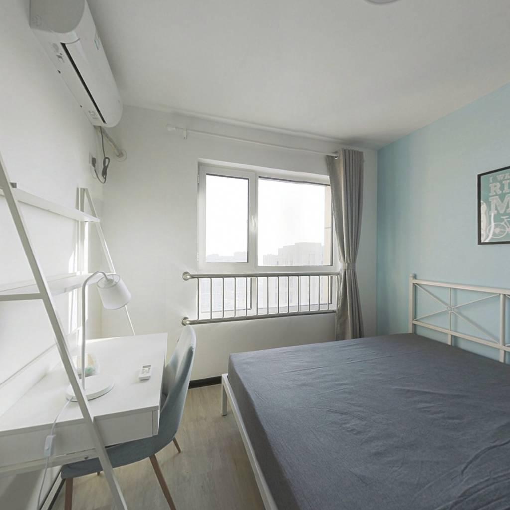 合租·盛庭名景 3室1厅 南卧室图