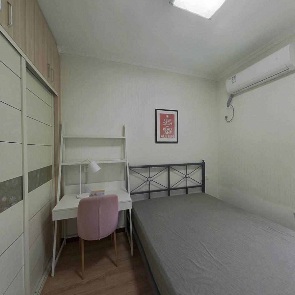 合租·光谷自由城 4室1厅 南卧室图