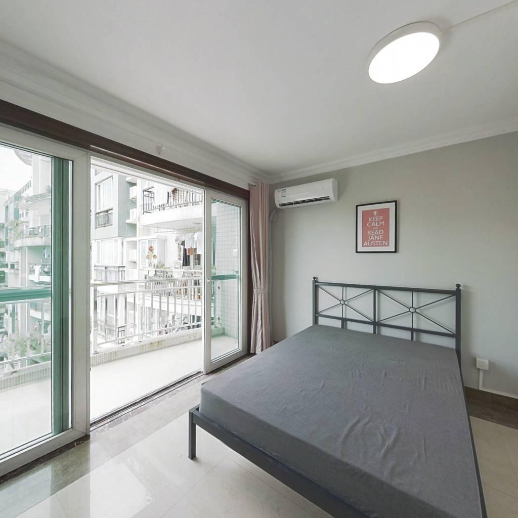 合租·白云高尔夫花园东区 4室1厅 北卧室图