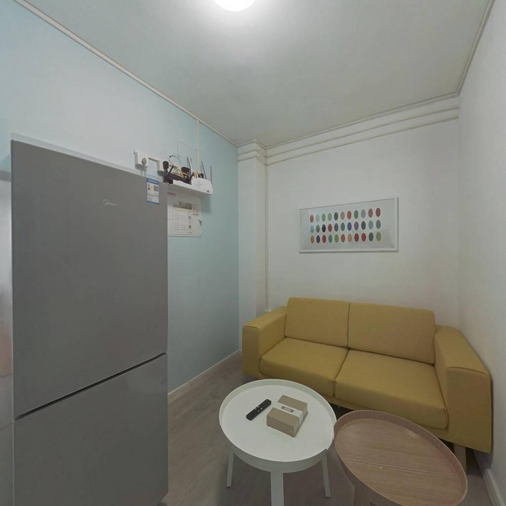 整租·沙申新村 1室1厅 南卧室图