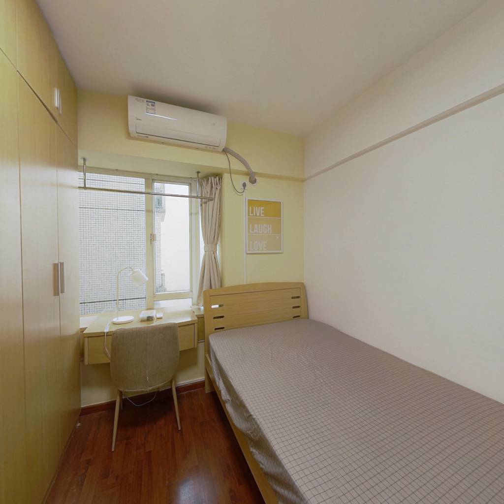 合租·赛拉维 3室1厅 东卧室图
