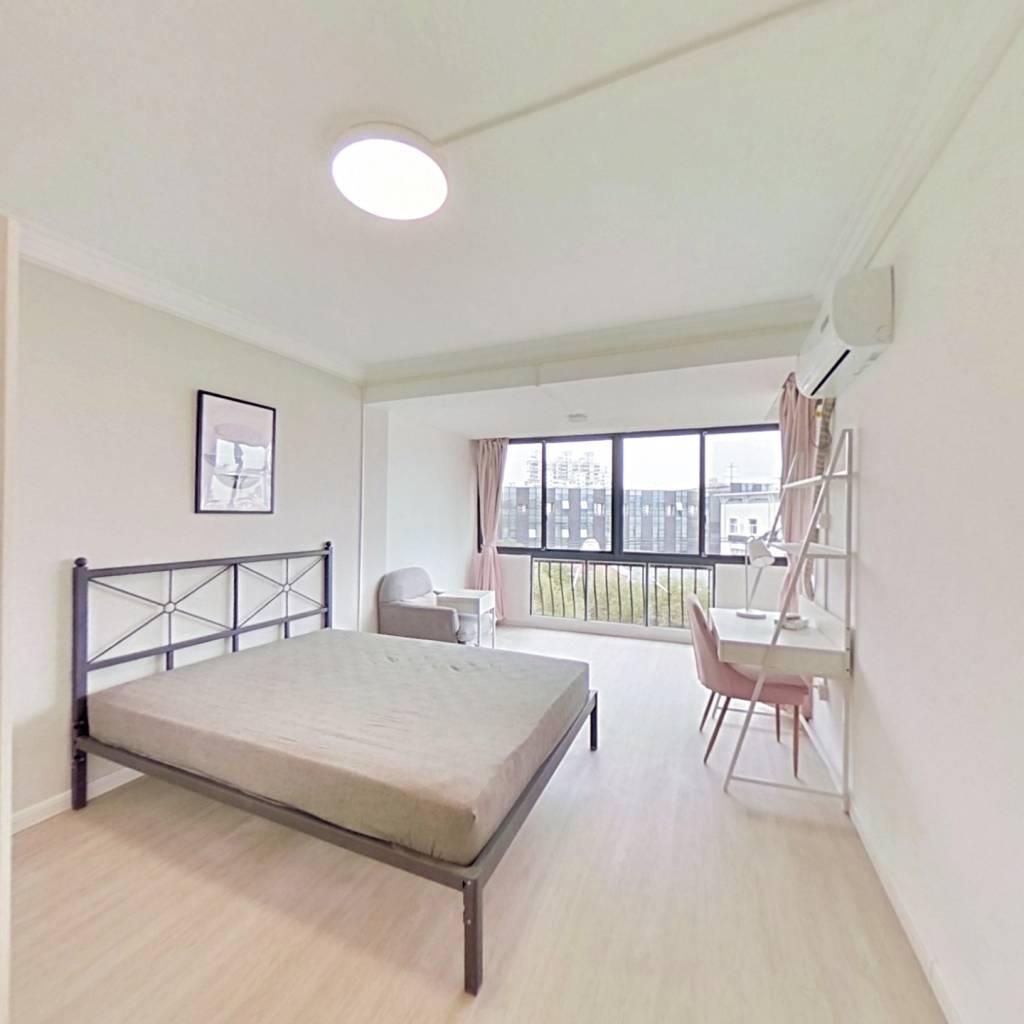 合租·嘉茵苑 4室1厅 南卧室图