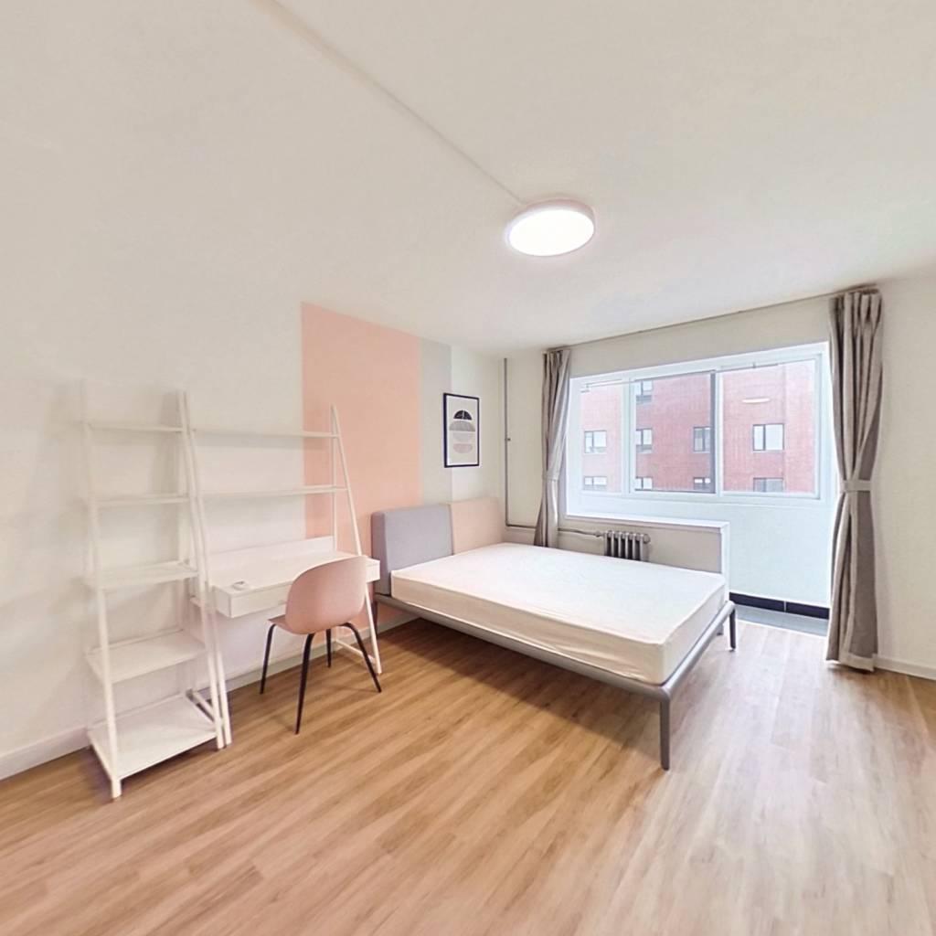 合租·小南庄社区 2室1厅 北卧室图