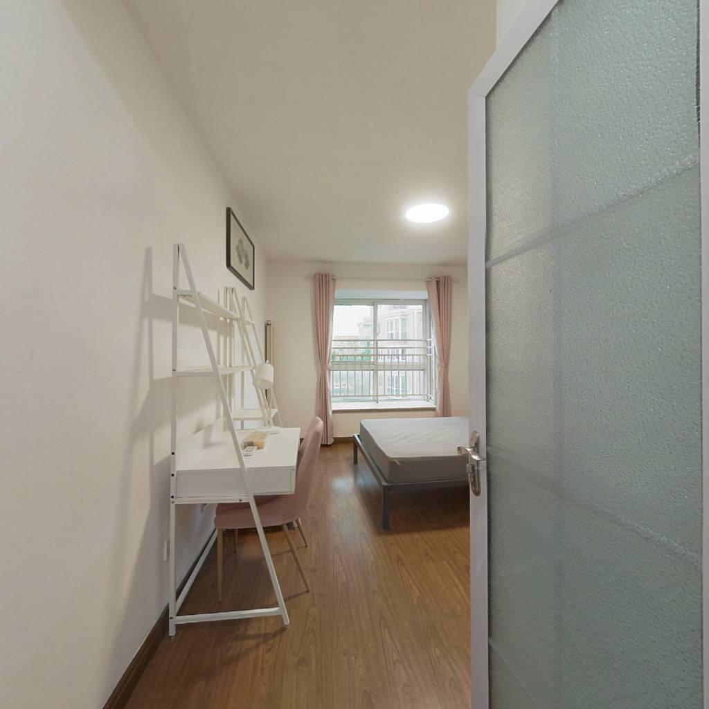 合租·新华联家园北区 3室1厅 南卧室图