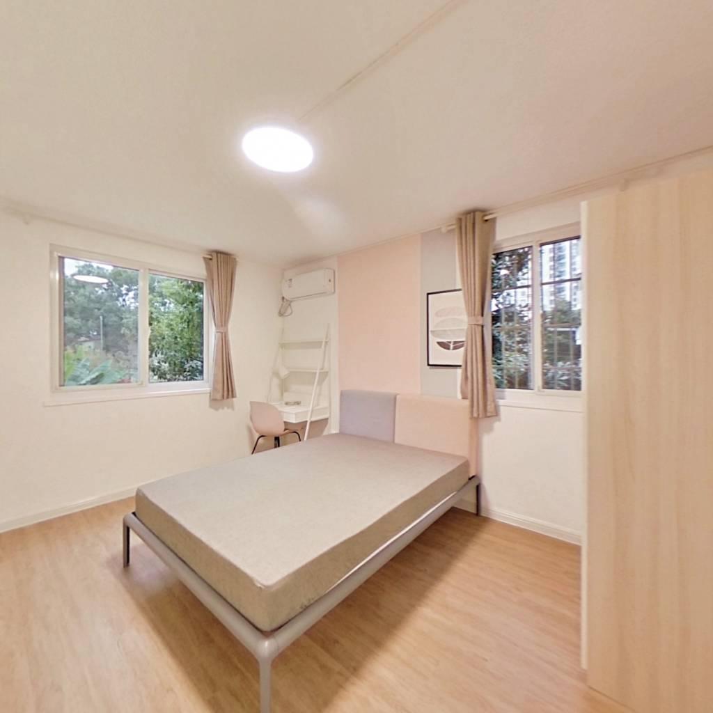 合租·寿益坊 3室1厅 西南卧室图