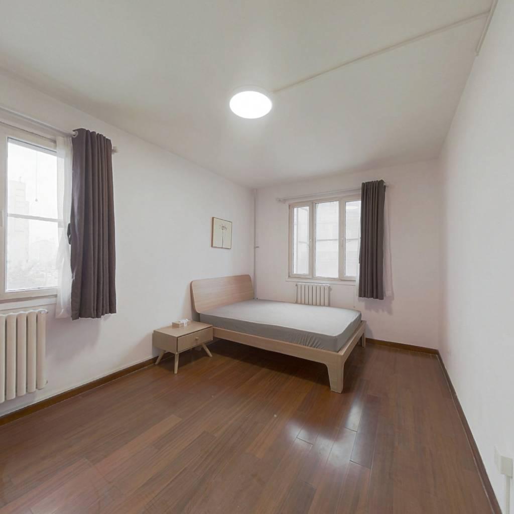 整租·紫竹院小区 2室1厅 西北卧室图