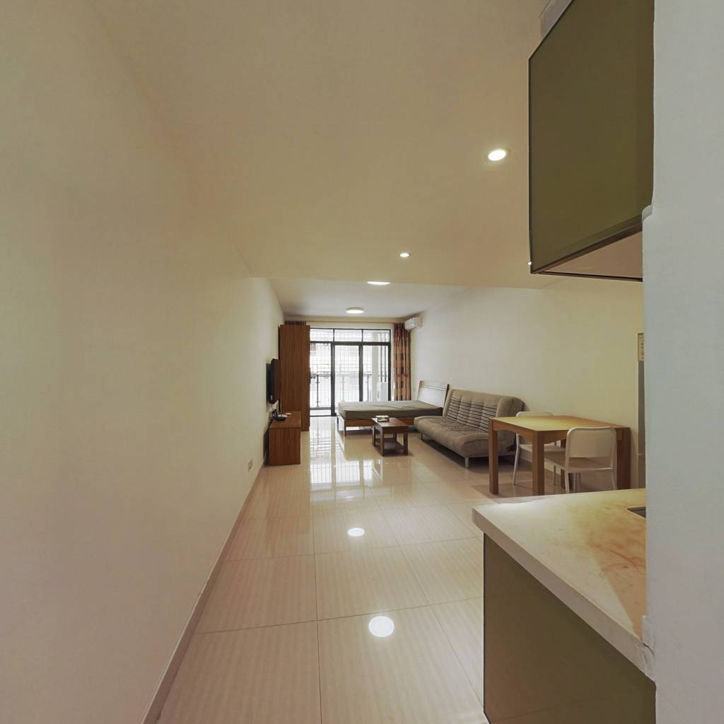 整租·荔馨村南山区 1室1厅 南卧室图