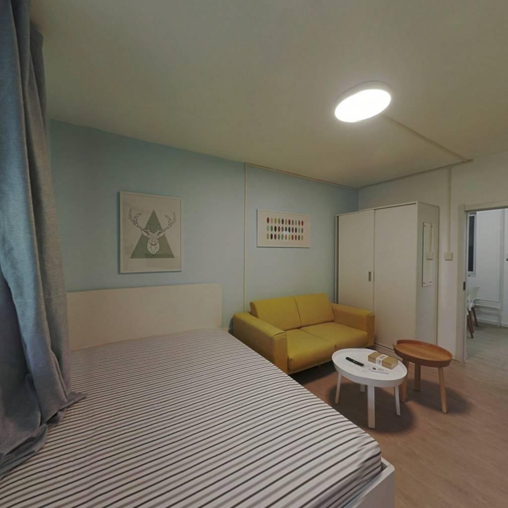 整租·东木樨园 1室1厅 南卧室图