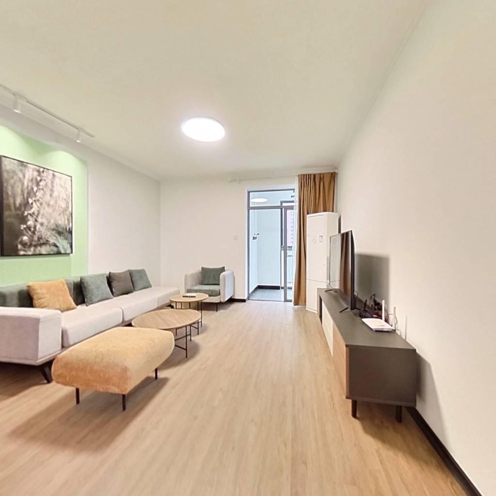 整租·大宅风范城 2室1厅 南卧室图